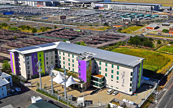 'Green' Cape Town hotel achieves global first