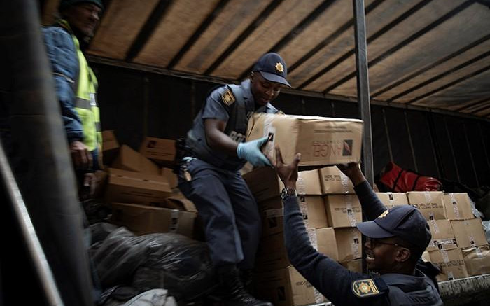 JMPD confiscate counterfeit goods worth R15m in another CBD raid
