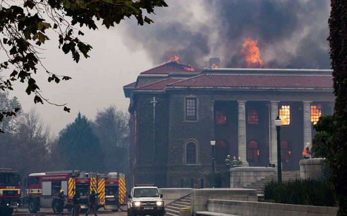 After UCT library fire, we must again look at SA's painful past