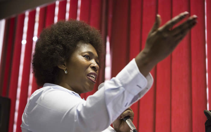 Makhosi Khoza yet to announce next move following Outa departure