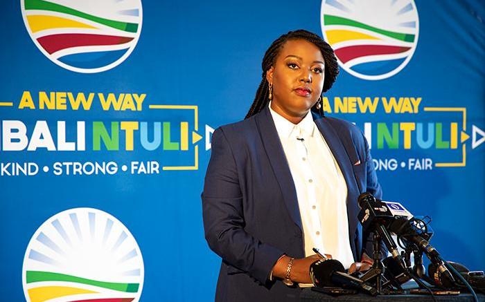 Mbali Ntuli dismisses claims she'll leave DA if her leadership bid flops