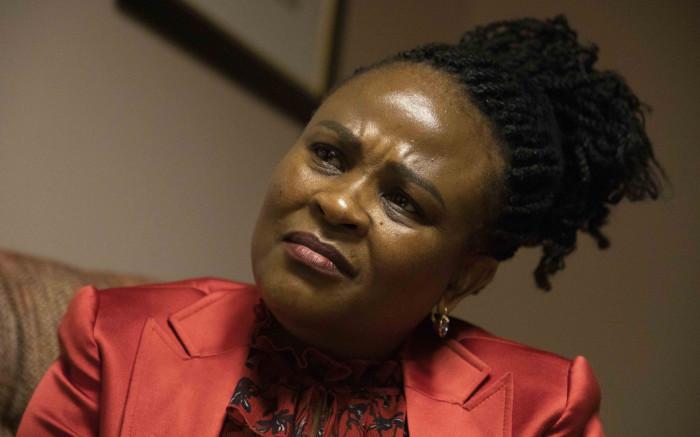 Mkhwebane slams media for being biased, using misleading headlines