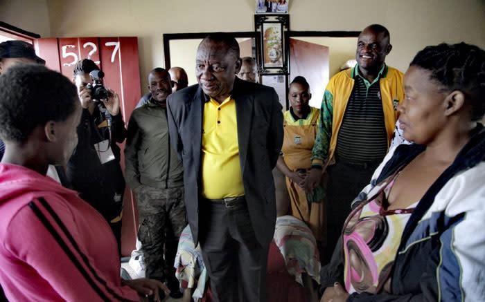 Ramaphosa calls for peace, unity among Northern Cape leaders