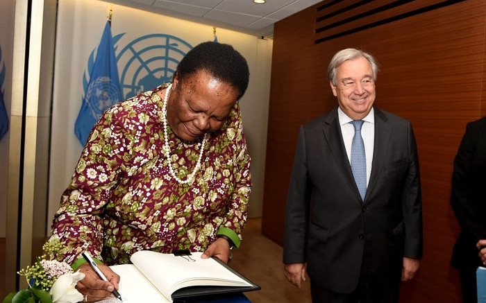 Pandor to reiterate SA's regret over xenophobic attacks in her address at UN