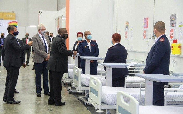 Ramaphosa pleased with WC's strategy to identify COVID-19 hotspots