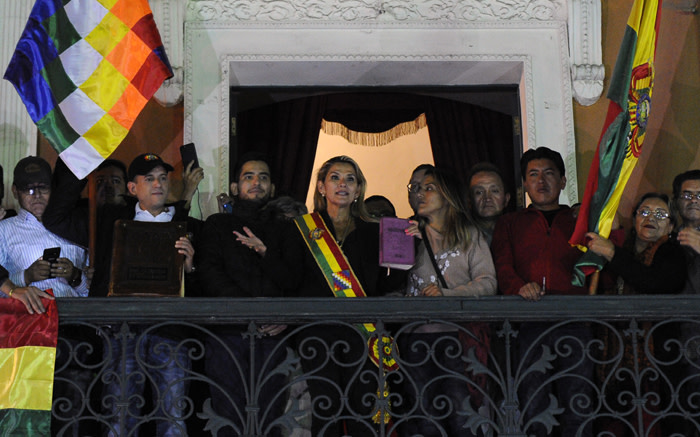 Bolivia ex-president Anez arrested in 'coup' probe: minister