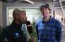 US motocross legend Travis Pastrana at the EWN offices in Johannesburg. Picture: EWN