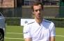 World no. 1 Andy Murray talks about the French open. Picture: Screengrab/CNN