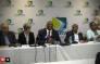 FILE: RTMC CEO Makhosini Msibi (centre) at a press briefing. Picture: Kgothatso Mogale/EWN