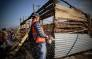 FILE: The eviction unit uses chainsaws and crowbars to demolish shacks. Picture: Thomas Holder/EWN.