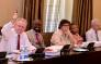 Rob Davies, Malusi Gigaba, Lynne Brown, Susan Shabangu and Jeremy Cronin at a scheduled Cabinet meeting attended by President Jacob Zuma, Deputy President Cyril Ramaphosa, Ministers and Deputy Ministers on 7 February 2018. Picture: GCIS
