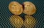 Bitcoin medals. Picture: AFP