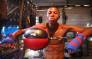 Asemahle Konde leans on a punching bag after an intense training session with his coach and father. Picture: Bertram Malgas