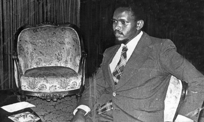 1977 File photo shows Black Consciousness Movement (BCM) founder Steve Bantu Biko. Picture: AFP.