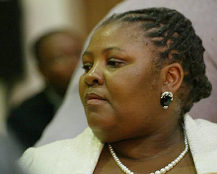 Nosiviwe Mapisa-Nqakula, Minister of Correctional Services. Picture: Taurai Maduna/Eyewitness News