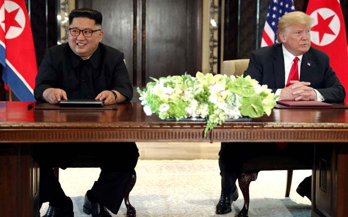 World can 'sleep well' after North Korea summit, Trump says