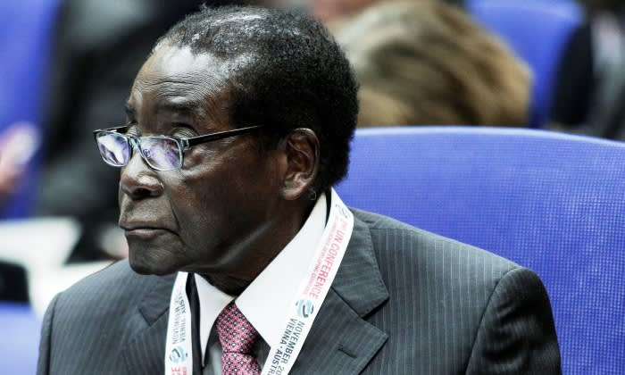 FILE: President of Zimbabwe Robert Mugabe. Picture: AFP