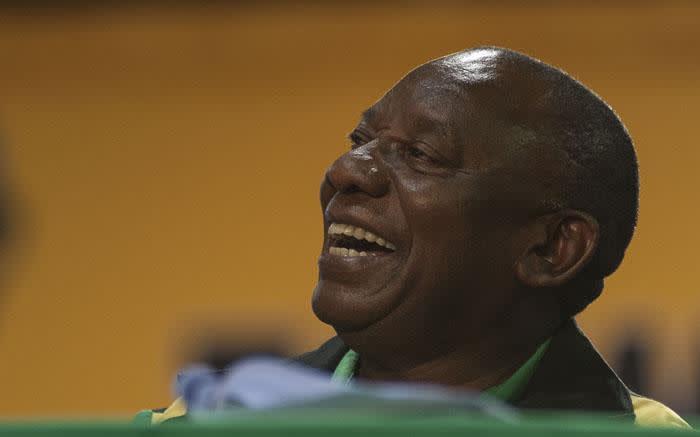 ANC President Cyril Ramaphosa. Picture: Ihsaan Haffejee/EWN
