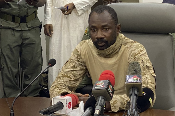 Mali interim leader says he's 'well' after assassination attempt