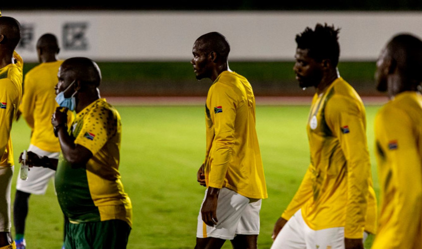 SA U23 Olympic soccer team to play against Japan in opening match