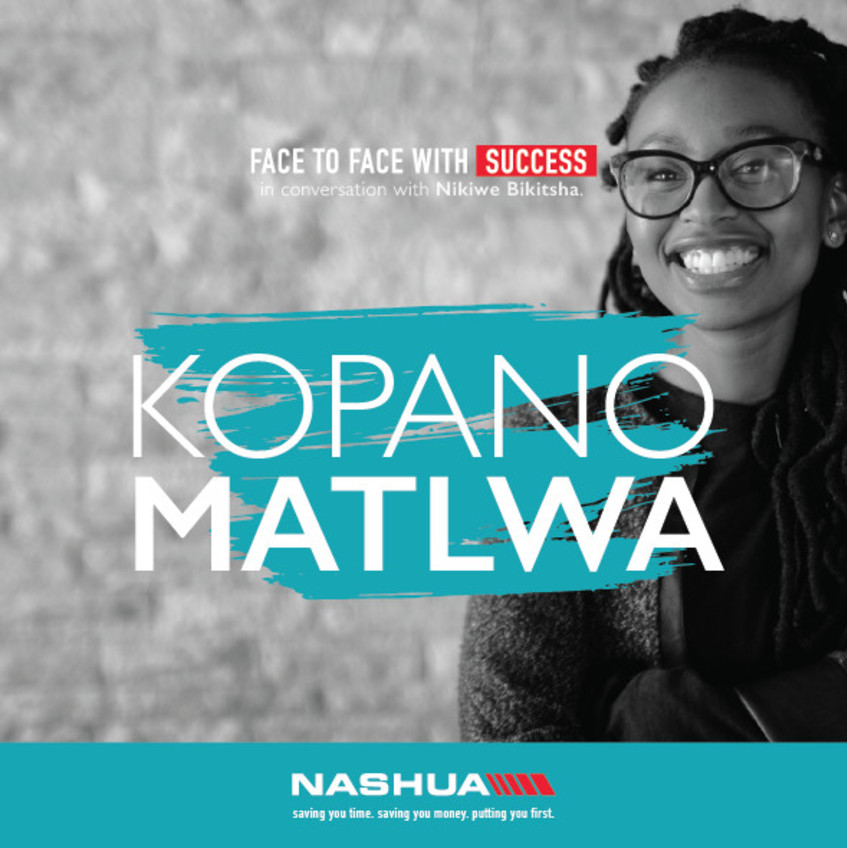 Face to Face with Dr Kopano Matlwa Mabaso