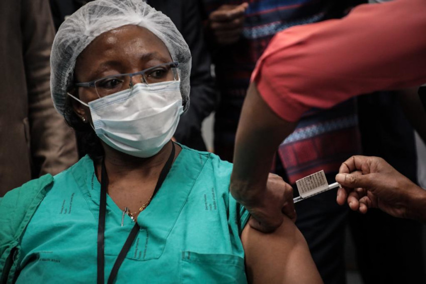 GALLERY: Day 1 of South Africa's COVID-19 vaccine rollout