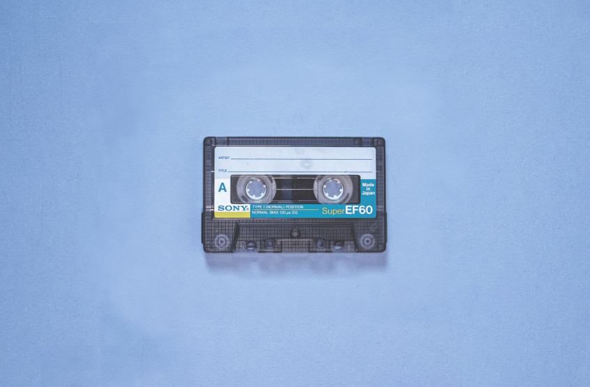 These are the first songs people recorded on a cassette tape