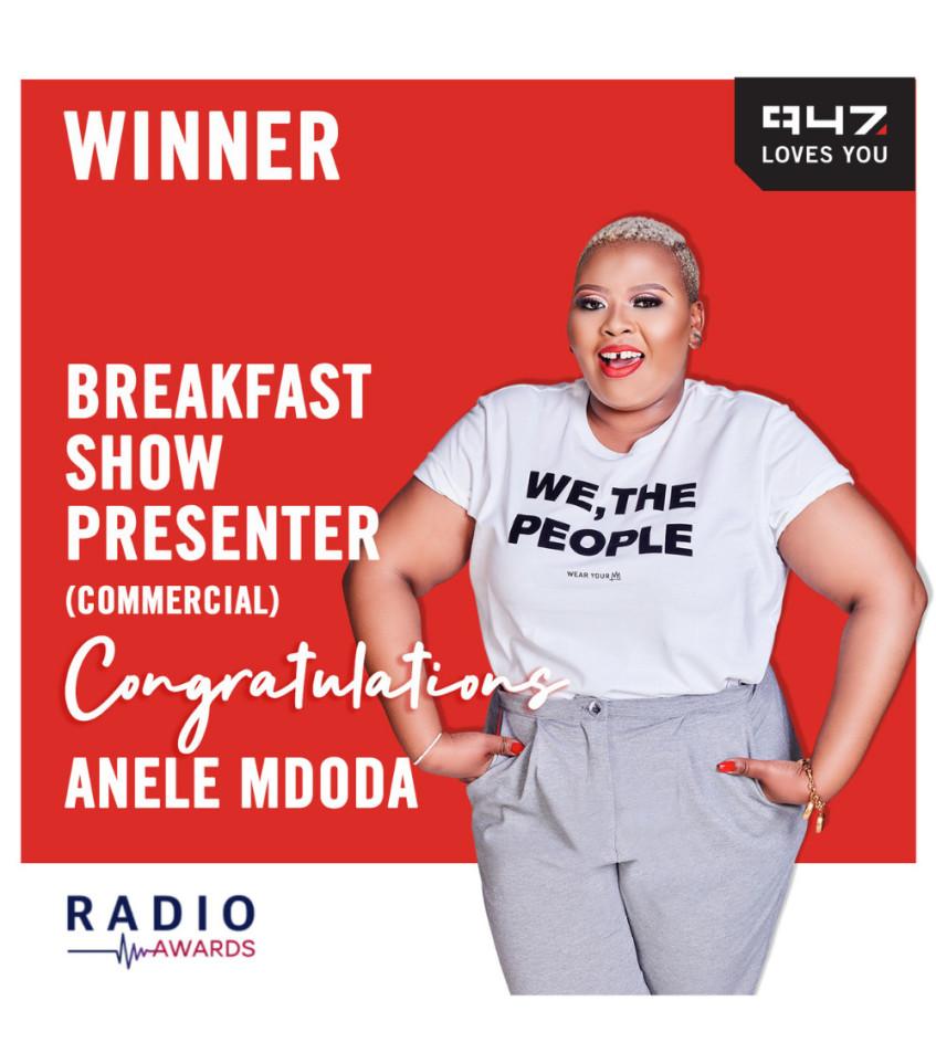 947 bags three SA Radio Awards