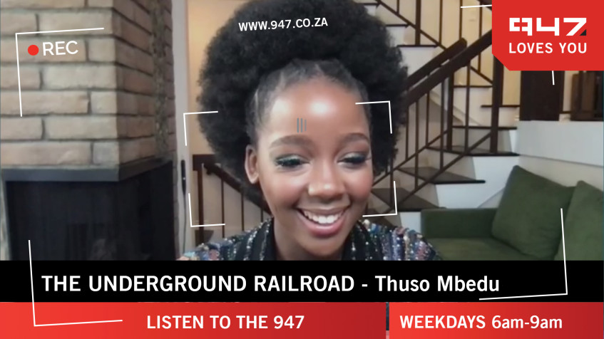[WATCH] Thuso Mbedu chats to Anele about The Underground Railroad