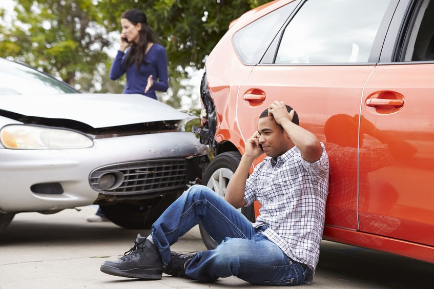 What happens if you've skipped an insurance payment and you're in an accident?