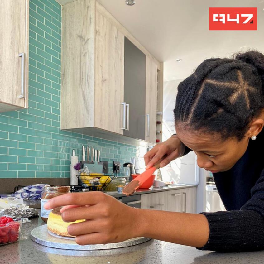 """Baking is a creative outlet for me!"" - Lerato Höffele, EWN, Fresh On 947"