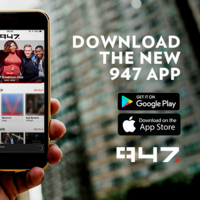 Download the 947 App and stay up to date with all things Joburg