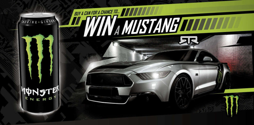 Luthando wins a Monster Ford Mustang GT Convertible worth over R1 MILLION