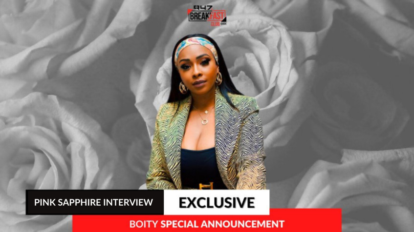 Boity launches Pink Sapphire perfume range in partnership with Halo Heritage