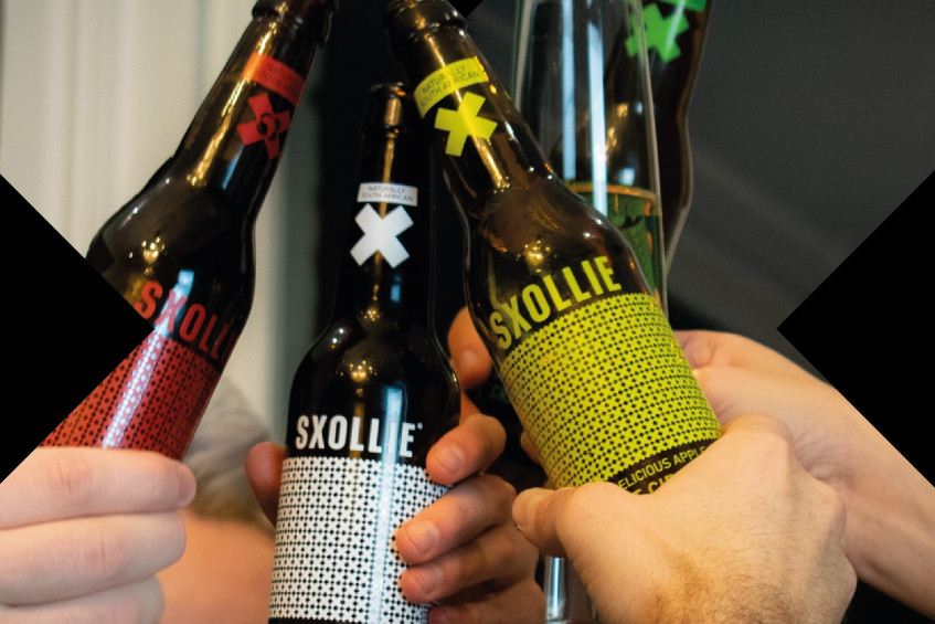 Cheers, mate! South Africa's SXOLLIE cider 'taking over' the UK