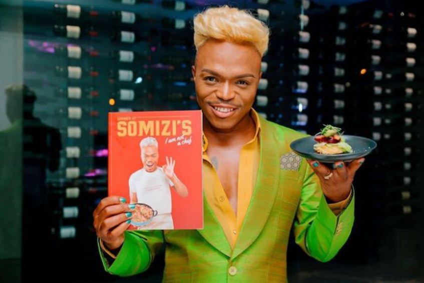 Local is always lekker as Somizi's cookbook becomes highest-seller in SA