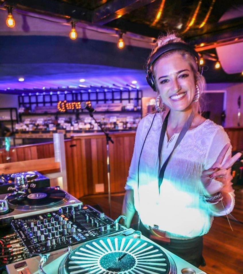 Abby Nurock: bespoke jewellery maker by day, vinyl dj by night