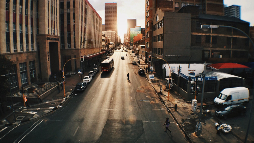 Take a scenic road trip to some of the most iconic spots in Joburg