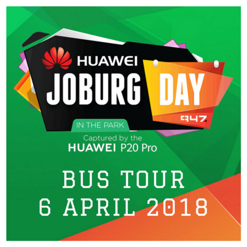 #HuaweiJoburgDay in the Park Bus Tour coming up this Friday!