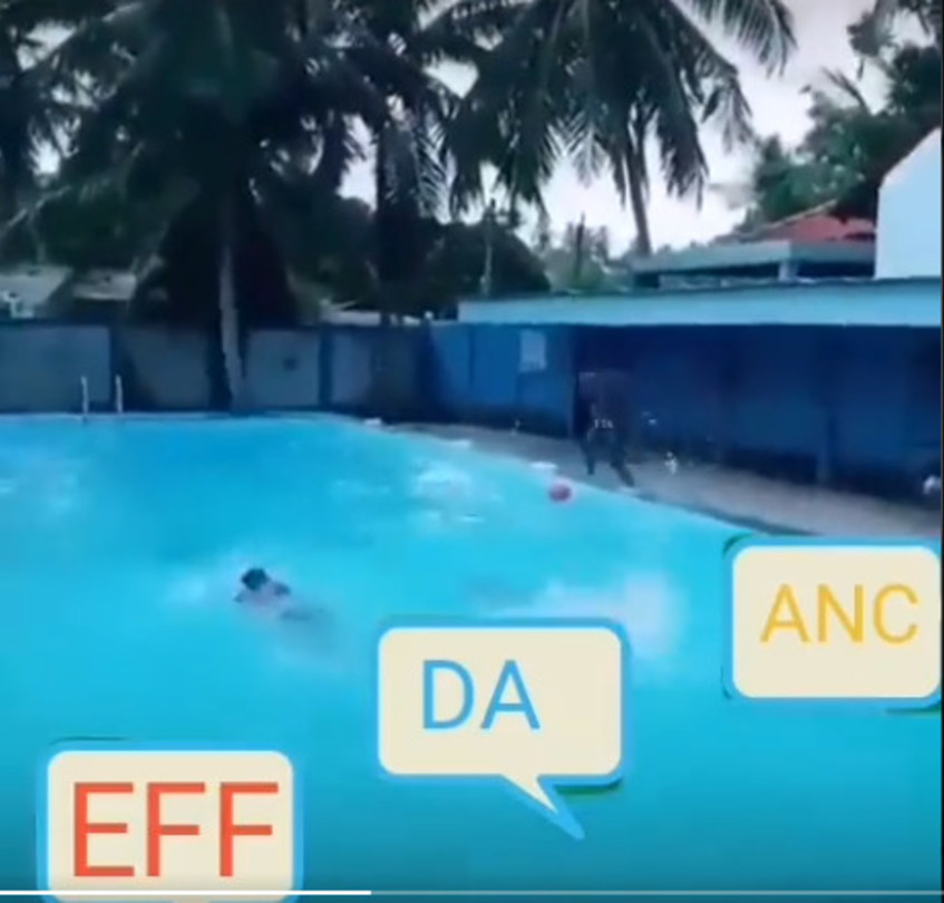WATCH: Spoof video of ANC cheating other parties goes viral