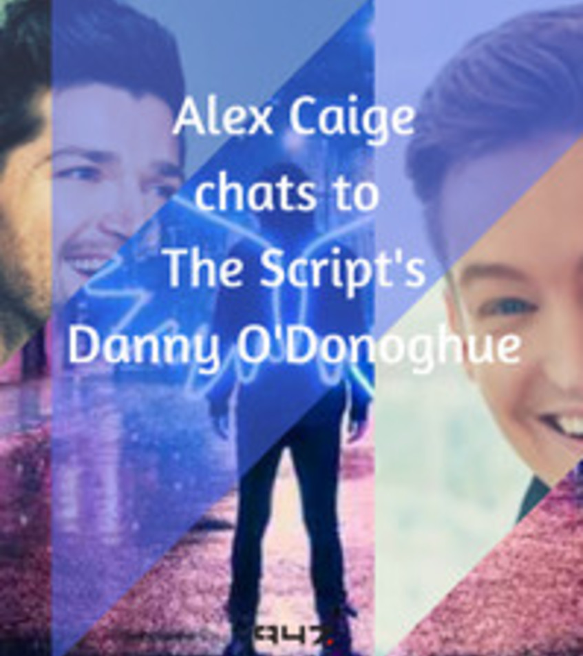 Alex Caige chats to Danny from The Script ahead of their South African tour