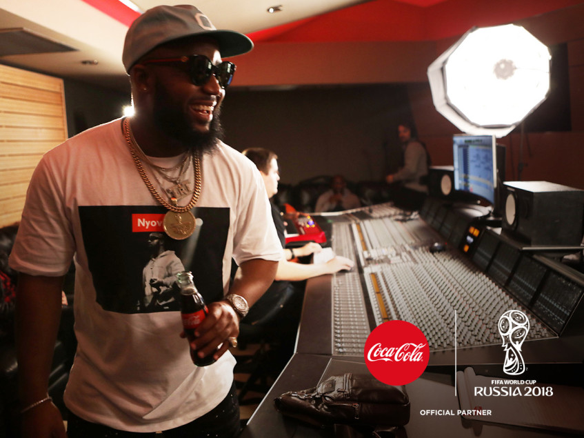 Jason Derulo and Cassper Nyovest collaborate on 2018 FIFA WC Coca-Cola anthem