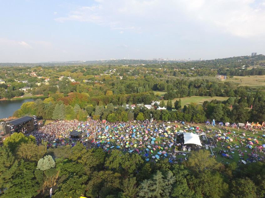 Thank you Joburg - Huawei joburg Day in the Park 2017 - Highlights