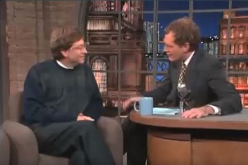[WATCH] Bill Gates in 1995 explains how internet works to David Letterman - 702