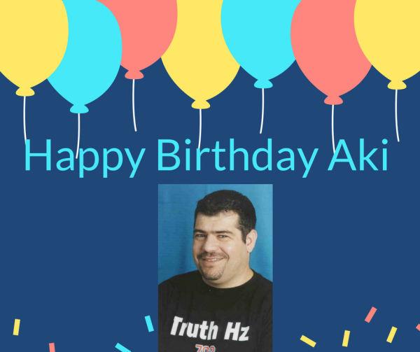 Happy Birthday Aki Anastasiou