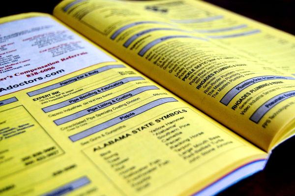Is your business listed in the white pages? Beware of scammers