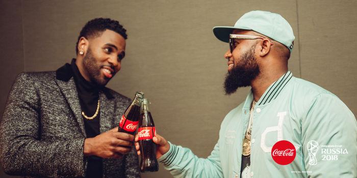 Jason Derulo And Cassper Nyovest Collaborate On 2018 Fifa Wc Coca