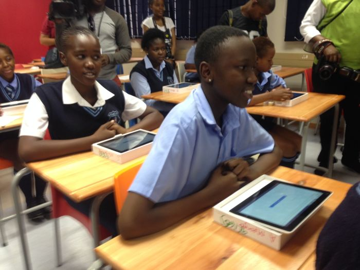 6 schools in Gauteng will be using tablets this year and yours ...