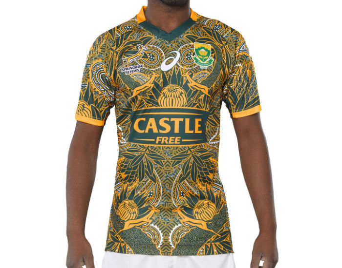 3e820fd8348 Check out BlitzBokke #Madiba100 jersey for Cape Town 7s