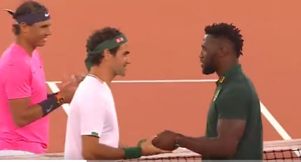 Federer, Nadal raise more than $3 million with Match in Africa